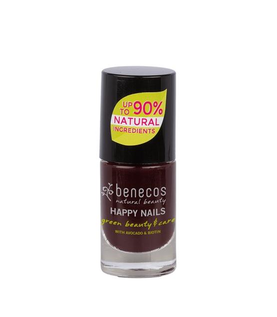 Nagellack glänzend Vamp - 9ml - Benecos