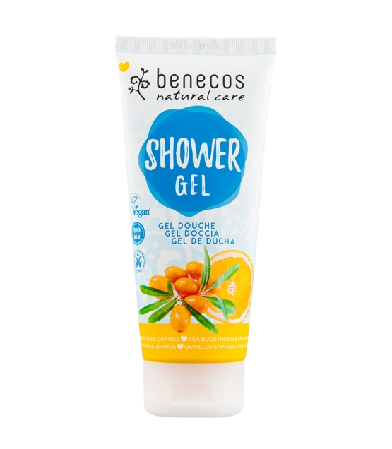 Gel douche BIO argousier & orange - 200ml - Benecos