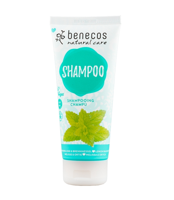 Shampooing BIO ortie & mélisse - 200ml - Benecos