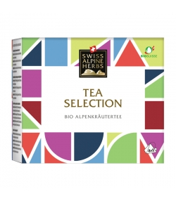 BIO-Selection Alpenkräutertee - 16 Teebeutel - Swiss Alpine Herbs