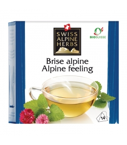 Infusion brise alpine BIO - 14 sachets - Swiss Alpine Herbs