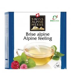 BIO-Kräutertee Alpenbrisen - 14 Teebeutel - Swiss Alpine Herbs