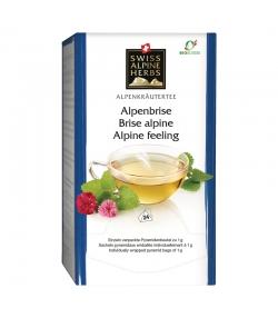BIO-Kräutertee Alpenbrisen - 24 Teebeutel - Swiss Alpine Herbs