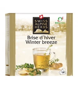 Infusion brise d'hiver BIO - 14 sachets - Swiss Alpine Herbs