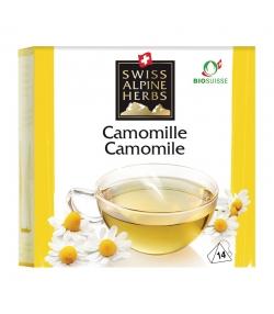 Infusion camomille BIO - 14 sachets - Swiss Alpine Herbs
