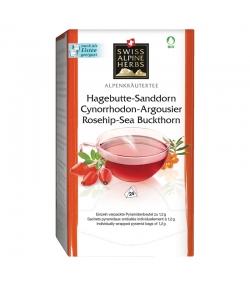 BIO-Kräutertee Hagebutte & Sanddorn - 24 Teebeutel - Swiss Alpine Herbs