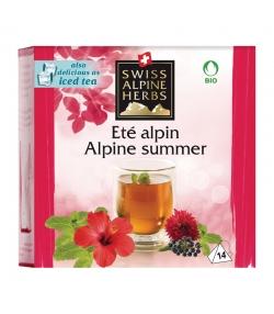 BIO-Kräutertee Alpensommer - 14 Teebeutel - Swiss Alpine Herbs
