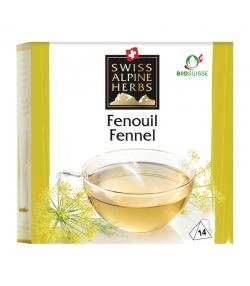 Infusion fenouil BIO - 14 sachets - Swiss Alpine Herbs