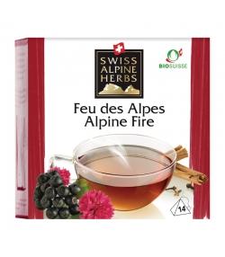 Infusion feu des Alpes BIO - 14 sachets - Swiss Alpine Herbs