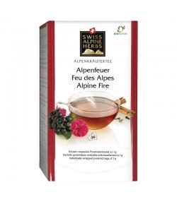 BIO-Kräutertee Alpenfeuer - 24 Teebeutel - Swiss Alpine Herbs
