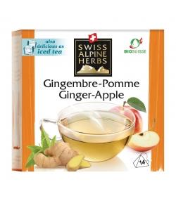 BIO-Kräutertee Ingwer & Apfel - 14 Teebeutel - Swiss Alpine Herbs