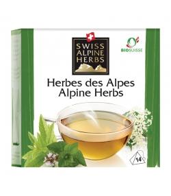 Infusion aux herbes des Alpes BIO - 14 sachets - Swiss Alpine Herbs