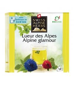 BIO-Kräutertee Alpenglanz - 14 Teebeutel - Swiss Alpine Herbs