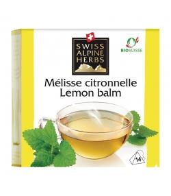 Infusion mélisse citronnelle BIO - 14 sachets - Swiss Alpine Herbs