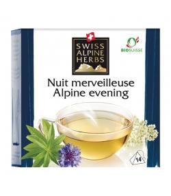 BIO-Kräutertee Traumhafter Abend - 14 Teebeutel - Swiss Alpine Herbs