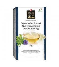 Infusion nuit merveilleuse BIO - 24 sachets - Swiss Alpine Herbs