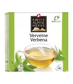Infusion verveine BIO - 14 sachets - Swiss Alpine Herbs