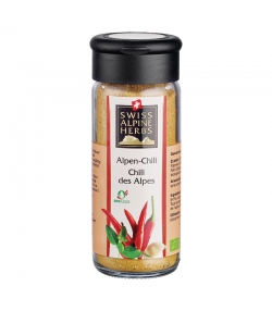 Chili des Alpes BIO - 40g - Swiss Alpine Herbs