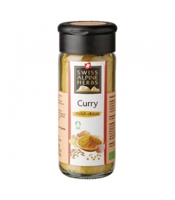Curry doux BIO - 40g - Swiss Alpine Herbs