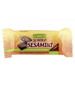 Barre croquante au sésame & chocolat BIO Sesamini choco  - 27g - Rapunzel
