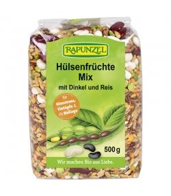 BIO-Hülsenfrüchte Mix mit Dinkel und Reis - 500g - Rapunzel