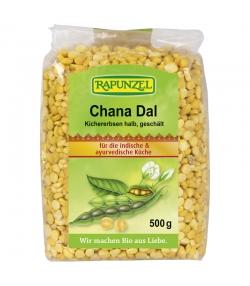 Chana Dal demi-pois chiches pelés BIO - 500g - Rapunzel