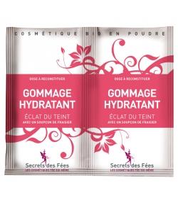 Gommage visage hydratant éclat du teint BIO fraisier - 2x4g - Secrets des Fées