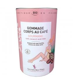 Gommage corps gourmand BIO café, cacao & aloe vera - 200g - Secrets des Fées