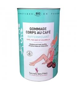 Gommage corps raffermissant BIO café, thé vert & chlorella - 200g - Secrets des Fées