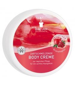 Crème corporelle naturelle grenade - 250ml - Bioturm