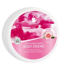 Natürliche Body Creme Rose - 250ml - Bioturm