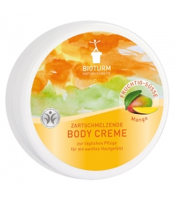 Natürliche Body Creme Mango - 250ml - Bioturm