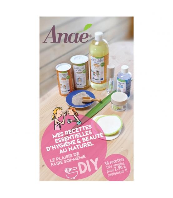 """Carnet """"Mes recettes essentielles d'hygiène et beauté au naturel"""" - 1 pièce - Anaé"""