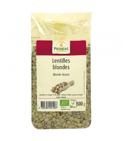 Lentilles blondes BIO - 500g - Priméal