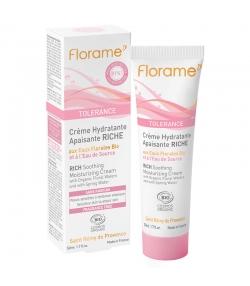 Crème hydratante apaisante riche BIO eau de source - 50ml - Florame