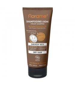 Shampooing crème cheveux secs BIO orange douce, ylang-ylang & palmarosa - 200ml - Florame