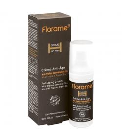BIO-Anti-Aging Creme Männer Zeder & Argan - 30ml - Florame