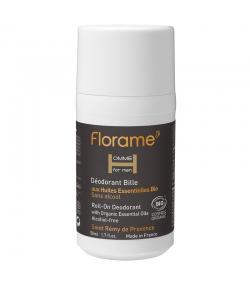 Déodorant à bille homme BIO tea tree & palmarosa - 50ml - Florame
