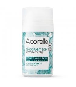 Déodorant à bille soin efficacité longue durée BIO lotus & bergamote - 50ml - Acorelle