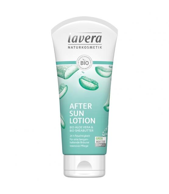 Lotion après-soleil BIO aloe vera & beurre de karité - 200ml - Lavera Sun