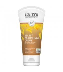 BIO-Selbstbräunungscreme für Gesicht Macadamiaöl & Sonnenblumenöl - 50ml - Lavera Sun
