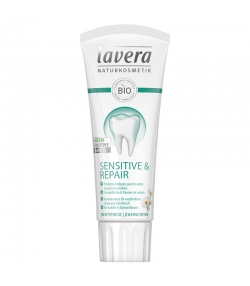 Dentifrice sensitive & repair BIO camomille avec fluor - 75ml - Lavera