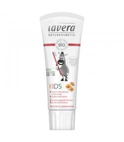 Dentifrice enfant goût fruité BIO calendula & calcium sans fluor - 75ml - Lavera