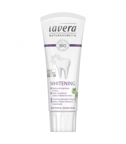 Dentifrice blanchiment BIO bambou avec fluor - 75ml - Lavera