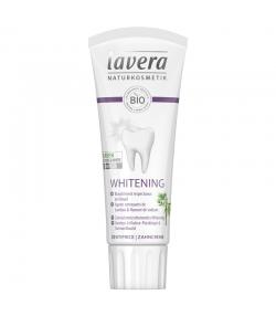BIO-Zahncreme Whitening Bambus-Cellulose-Putzkörper mit Natriumfluorid - 75ml - Lavera