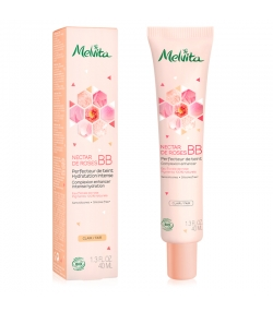 BB crème teinte claire BIO rose - 40ml - Melvita Nectar de Roses