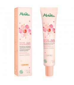 Getönte BIO-BB Creme helle Tönung Rose - 40ml - Melvita Nectar de Roses
