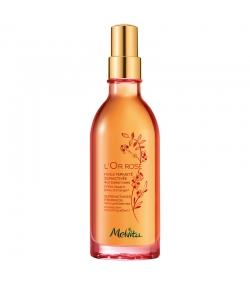 Huile fermeté suractivée BIO baies roses - 100ml - Melvita L'Or Rose