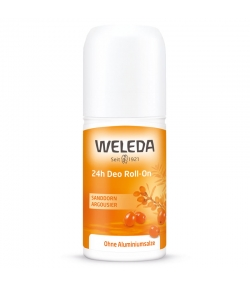 Déodorant à bille 24h BIO argousier - 50ml - Weleda