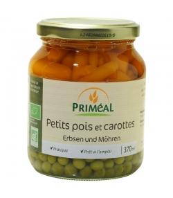 Petits pois et carottes en conserve BIO - 370ml - Priméal